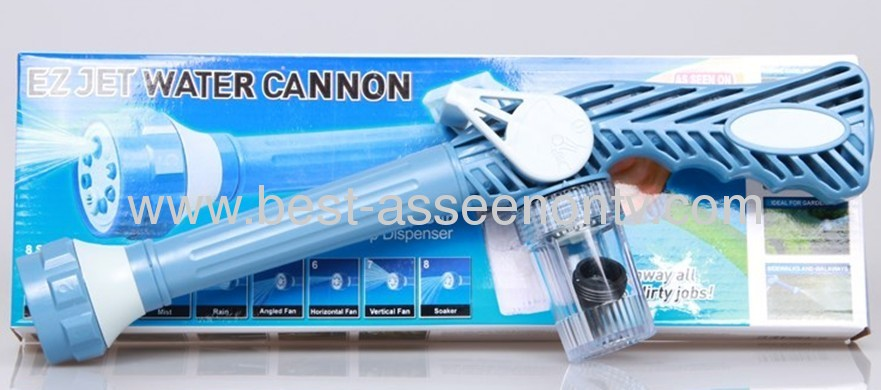 EZ JET CANNON WATER Family Use Garden High-Pressure Water Jet For Floor / Plant / Swimming Pool / Wall