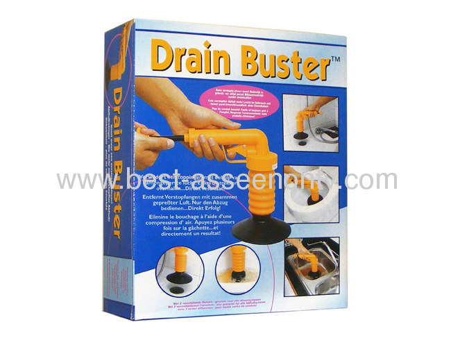 Drain Buster for toliet AS SEEN ON TV