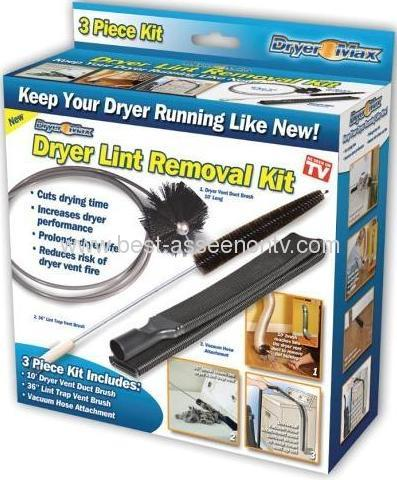 DRYER LINT REMOVER KIT AS SEEN ON TV