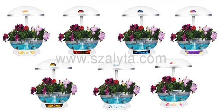 2013 best-selling products flowerpot flowers and vegetables fish lamp set in one product