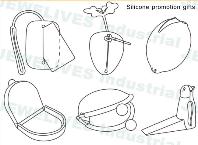 Promo Colorful Silicone Key case