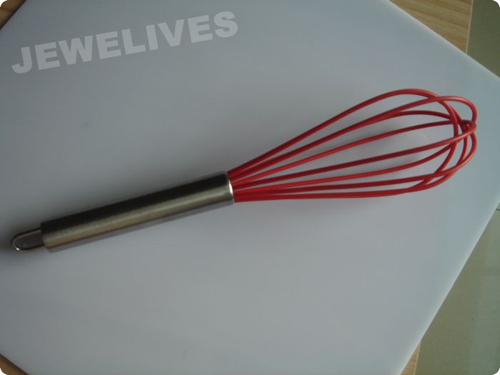 10inch Egg whisk in Colorful line