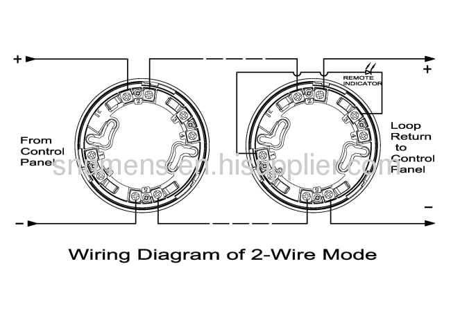 2013 06%2F11%2F203449518505 intelligent 2 wire fixed and ror heat detector from china 2 wire heat detector wiring diagram at edmiracle.co