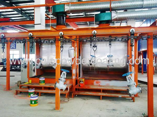 Aluminium powder coating plant High-efficiency powder recycleLow energy consumption Convenient color change
