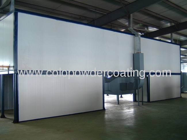 with ISO9000 quality management system automatic paint plant