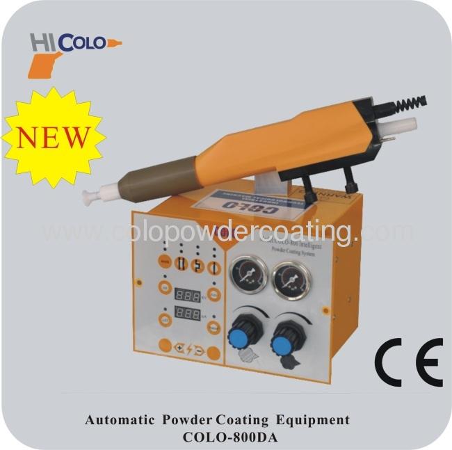 fire extinguisher powder coating machine