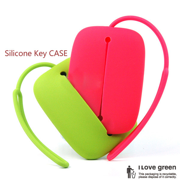 Fashionable Silicone Key case in promo