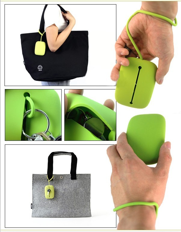 Colorful Silicone carrot Key case in Promo