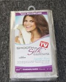 Smooth As Silk Pillow Case/ microfiber pillow cases as seen on tv