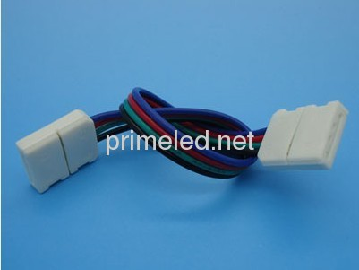 RGB Color LED Strip Solderless Jumper Connector