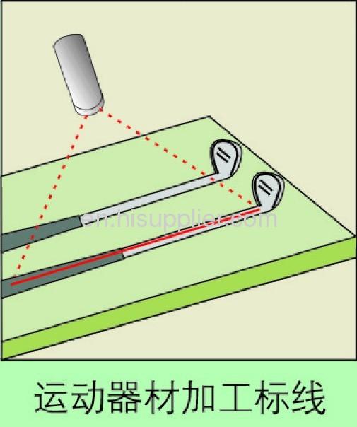 Adjustable laser marking line device,straight line red laser module.
