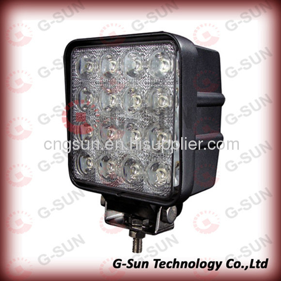 2013 Guangdong latest style 48w Vechile led work light