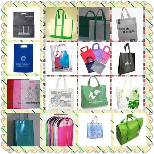 Promotion tote bag with non woven N1021