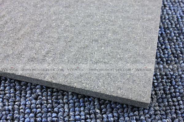 Salt and pepper porcelanato tile