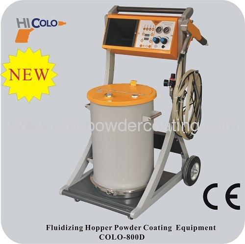 frame powder coating gun