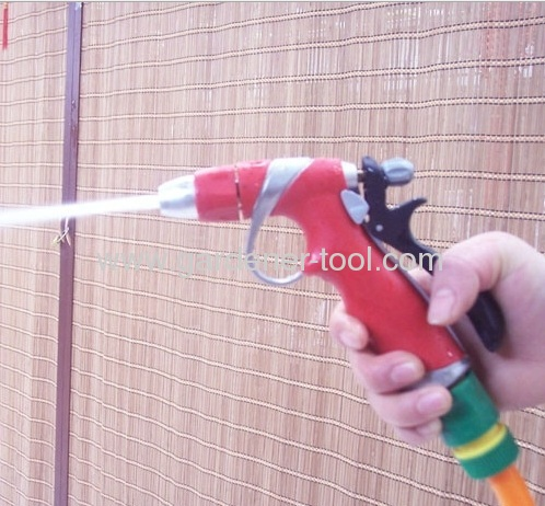 Big Zinc Hose Nozzle With 2-function Aluminium head