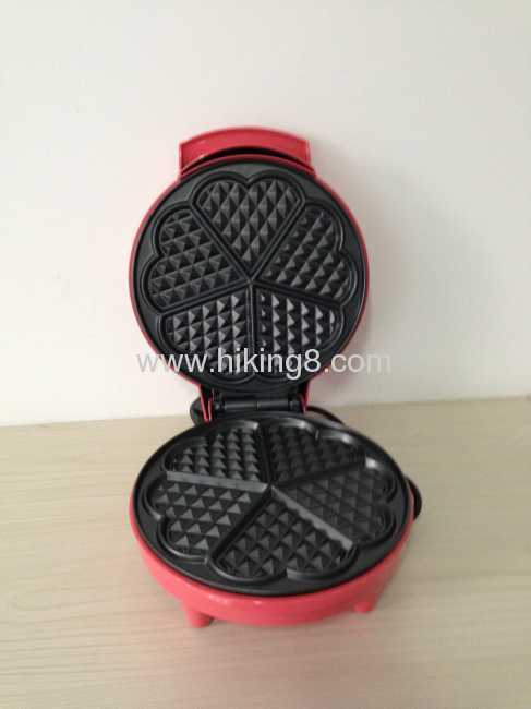 Mini waffle maker in minutes for home use