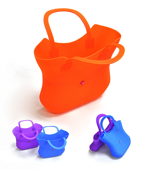 Ladies Silicone Shopping Bags in fashion shape