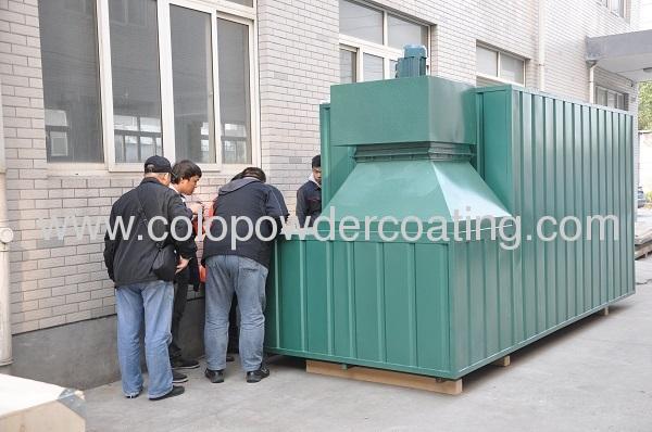 frame powder coating equipment sale