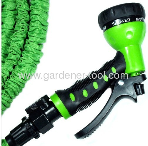 Magic Expand Hose Will Expand Lenght Triple/Garden Water Hose With 7-Function Hose Nozzle