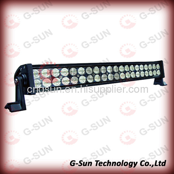 120W spotlight & floodlight SUV/truck/Excavator headlight led light bar