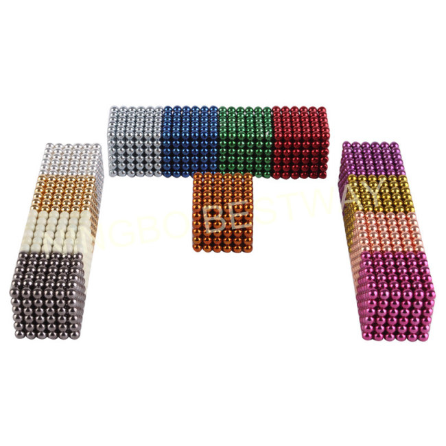 Colorful BuckyBalls216pcs/set