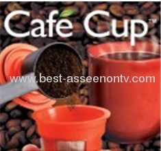 Clever coffee capsule coffee funnel filter mesh filter cup cafe cup set