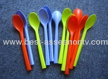 Fashion Novelty items cute Spoon Straw Drinking Spoon straws, jelly suction pipes of parts with small spoon