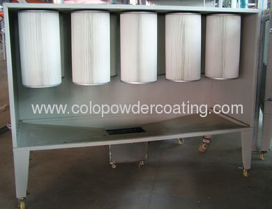 aluminium powder coating machine