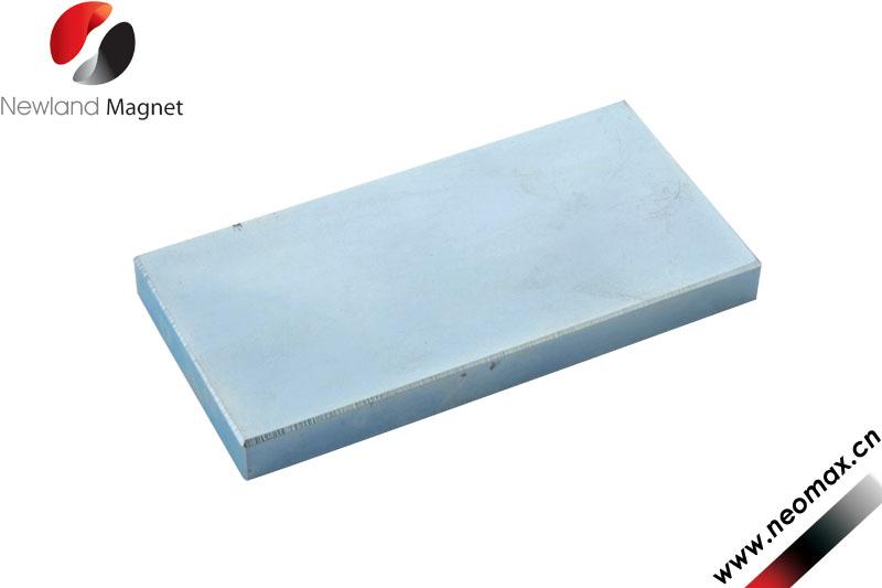 Rare neodymium block magnet