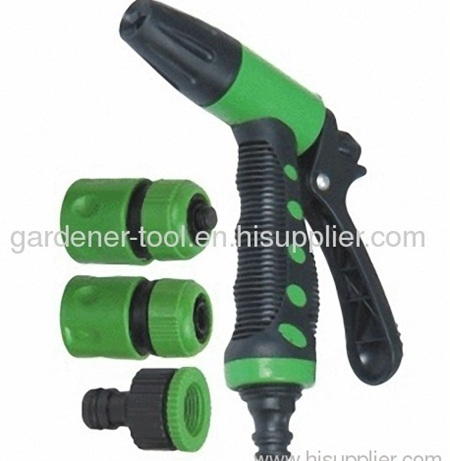 2-way garden trigger nozzle set for garden irrigation