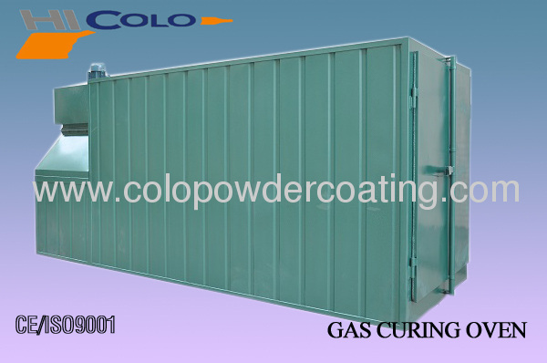 Drying/Curing oven for powder coating