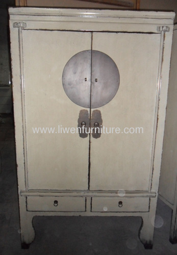 Antique reproduction wedding cabinet