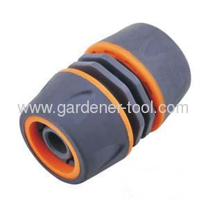 Plastic 1/2Garden Hose Mender With Soft Coat
