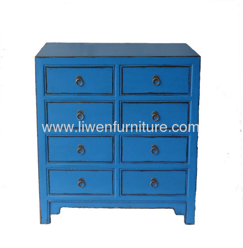 Antique Chinese chest 8 drawers