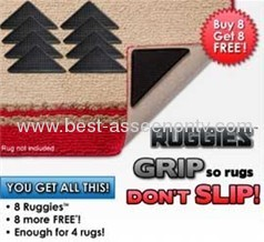 Ruggies rug grippers as seen on tv 8 pcs in opp bag