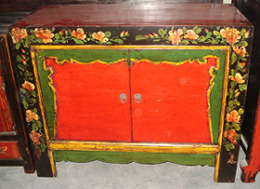 Antique home furniture Mongolia cabinet