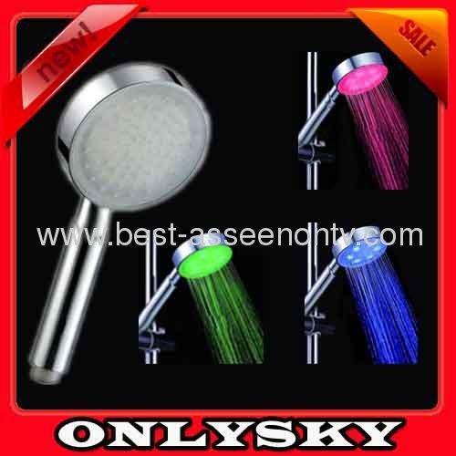Led discoloration faucet heterochrosis temperature control led faucet color light