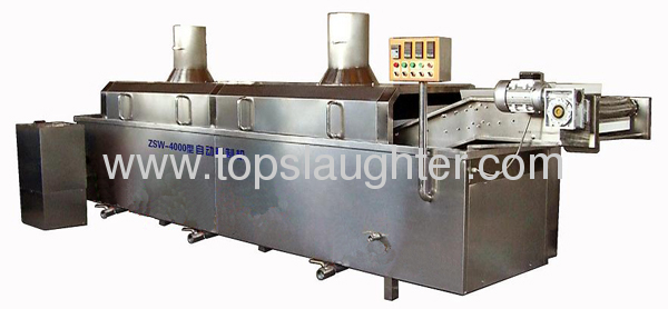 Food equipment blanching machine