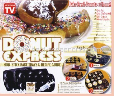 Donut Express as soon as on tv