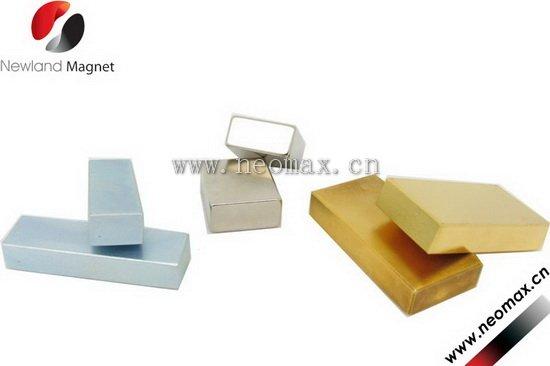 2 x1/4 x1/4block neodymium magnets