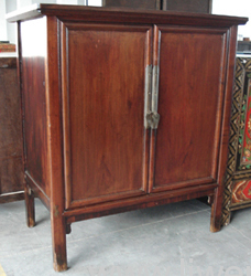 Antique elm wood cabinets