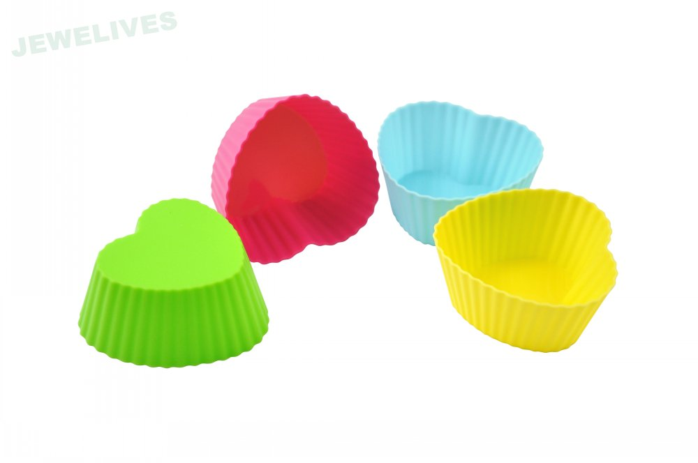 Silicone Muffin cake cups in bear shape