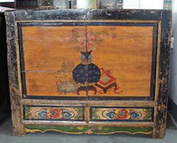 Asia furniture Mongolia cabinet