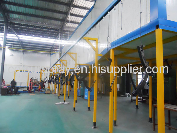 TUNNEL POWDER COATING OVEN