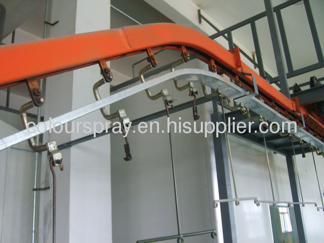Chair powder coating production lines Energy saving design