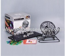 Lottery Ernie bingo ball game machine toy bingo set,bingo game