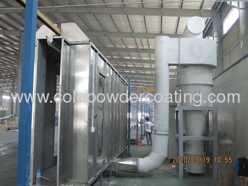 Multi Cyclone Powder Coating Recovery System 97% Efficiency