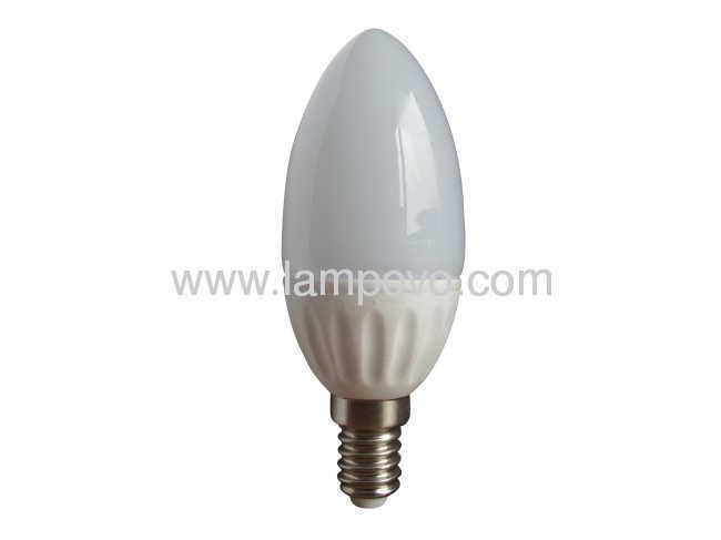 320LM 4.5W E14 8Pcs SMD5630 ceramic and glass LED Bulb