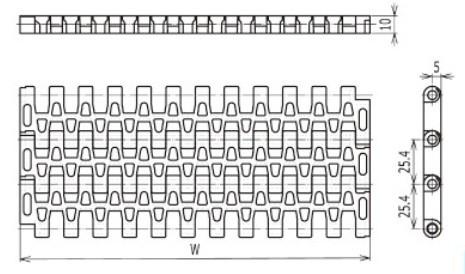 2500series conveyor sprocket 12teeth 25.4mm pitch